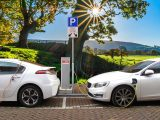 car, electric car, hybrid car